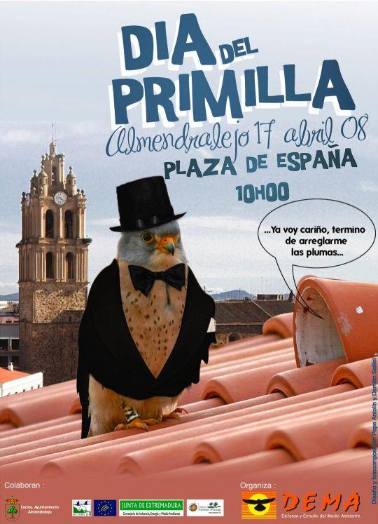 Cartel día del Primilla 2008