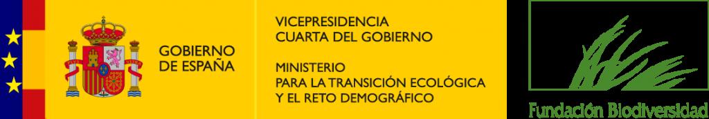 Logo Fundación Biodiversidad y Ministerio para la Transición Ecológica y Reto Demográfico