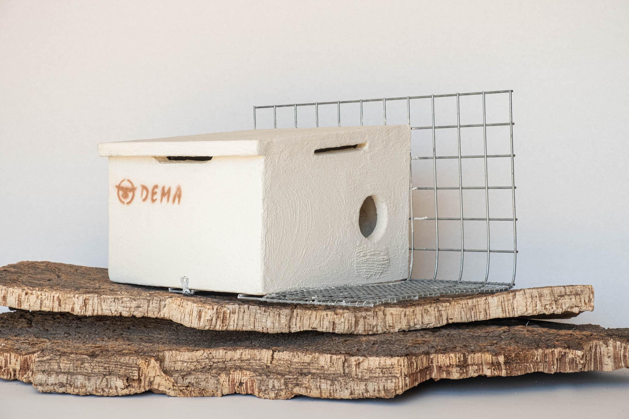Imagen de muestra del nido para cernícalo primilla