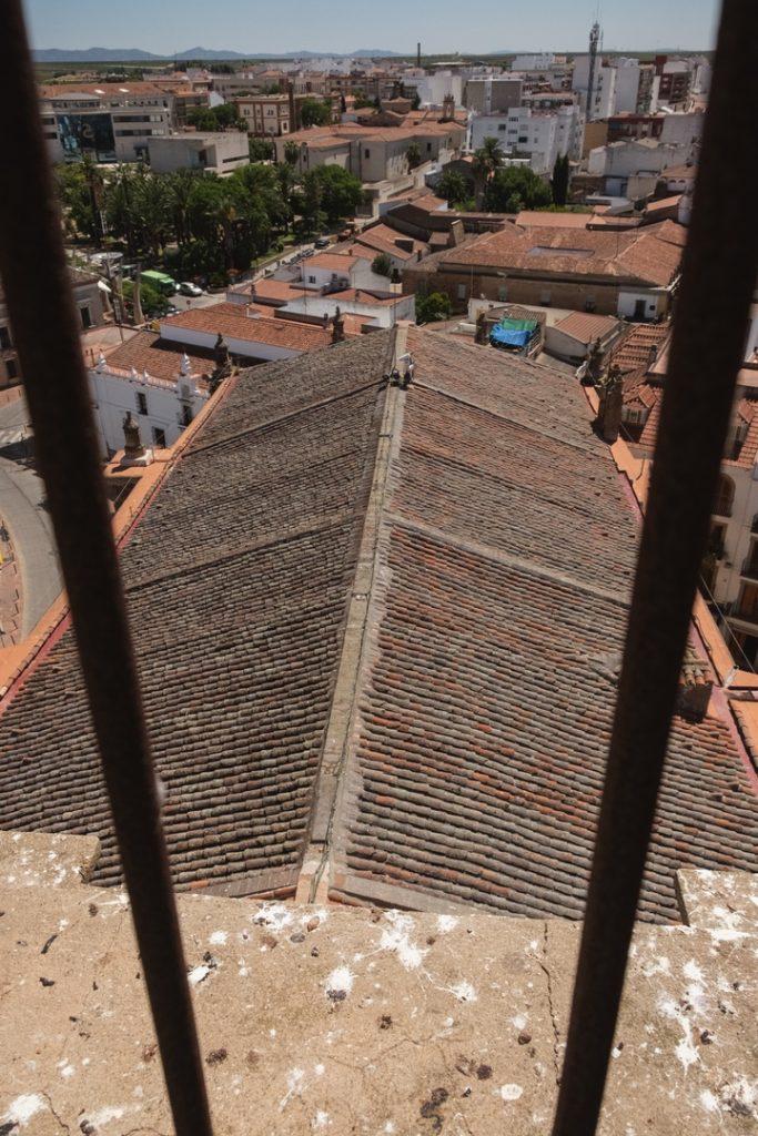 Tejado De la Iglesia de la Purificación de Almendralejo